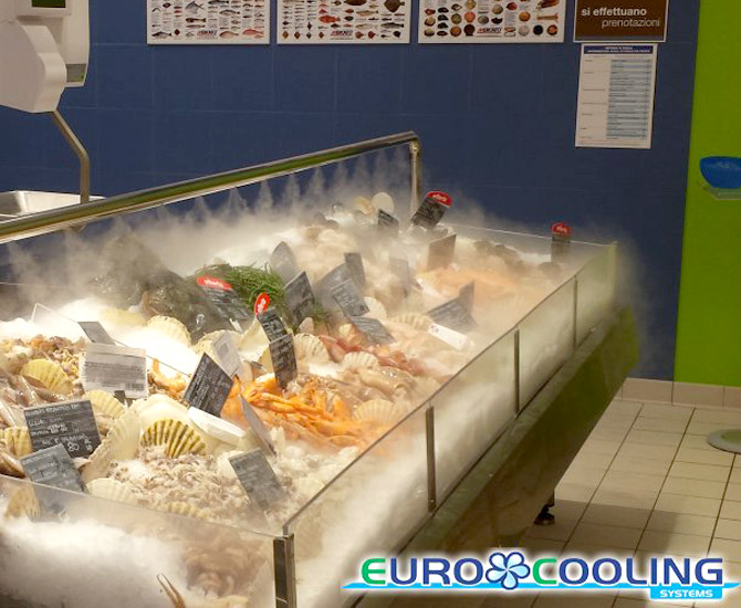 Misting in wineries, factories and for the food industry // Euro
